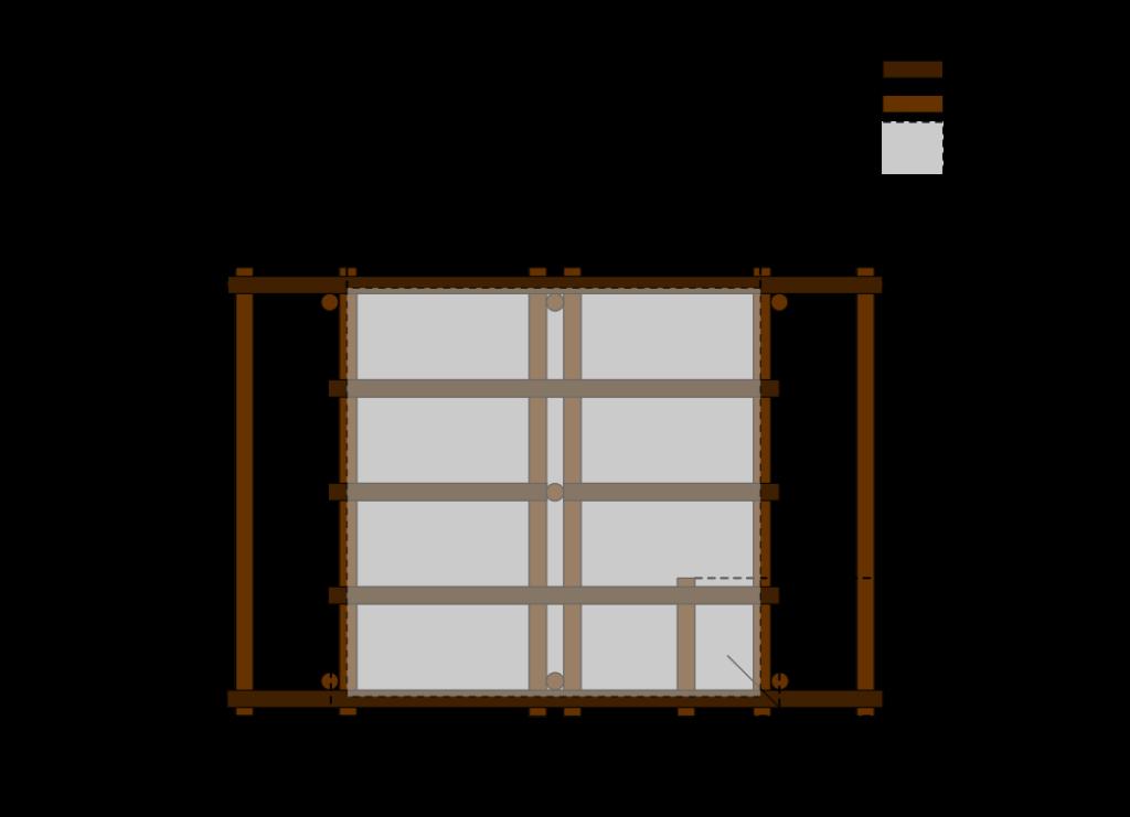 construire une pergola couverte