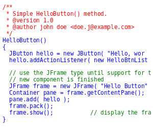 basic hello world html