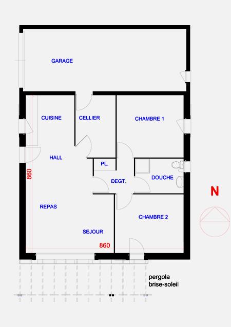 comment fabriquer une pergola bois bonza. Black Bedroom Furniture Sets. Home Design Ideas