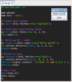 html code for hello world