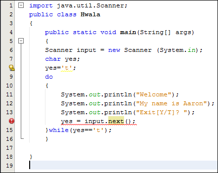 java for