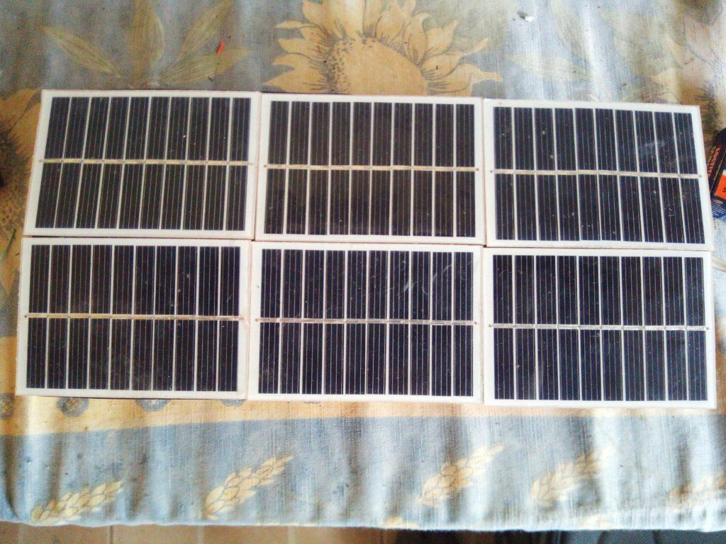 lampe à énergie solaire