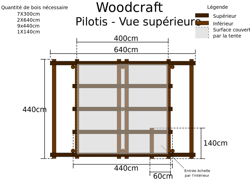 plan de montage pergola bois