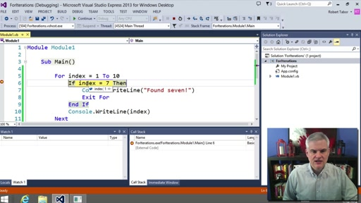 visual studio projects for beginners