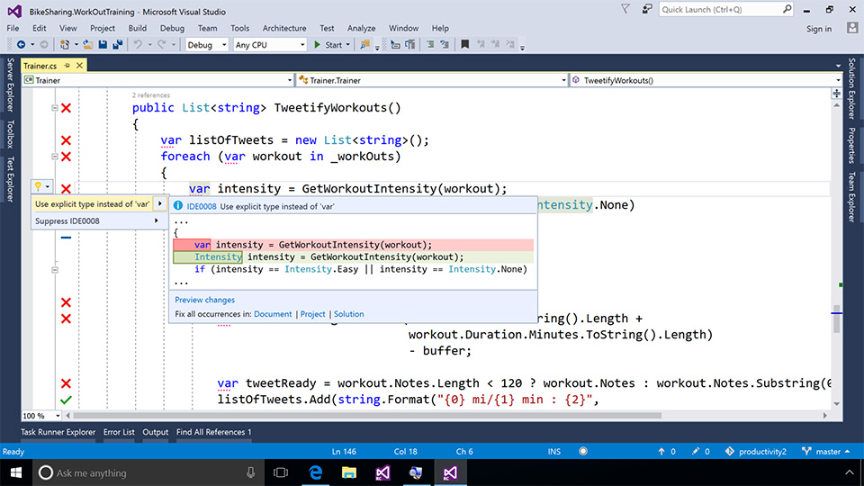c++ tutorial visual studio 2017
