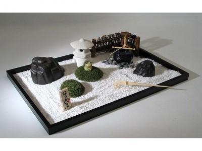 bouddha jardin zen