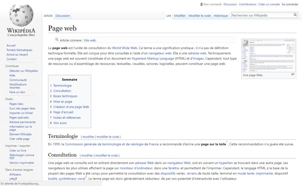 ecrire html en javascript