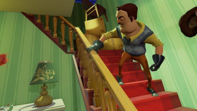 hello neighbor demo pc