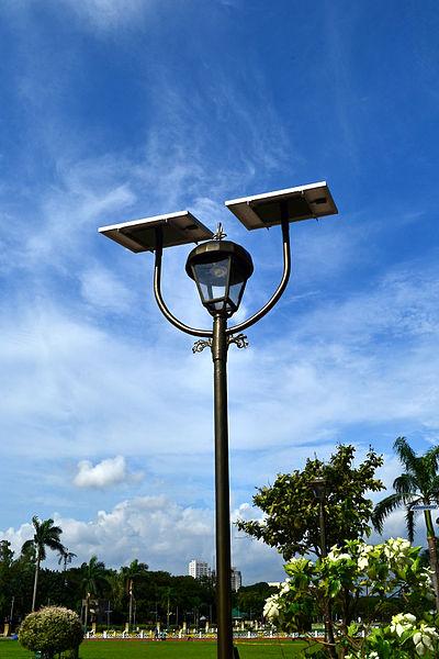 lampadaire de jardin design