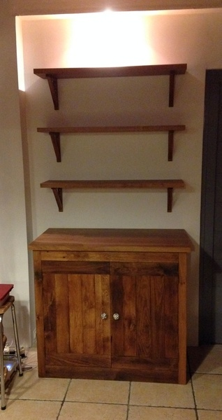 meuble etagere pour cuisine