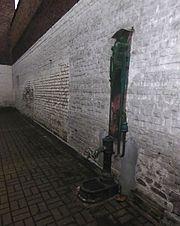 mur d'eau fontaine