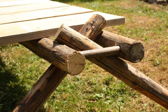 décors de jardin en bois