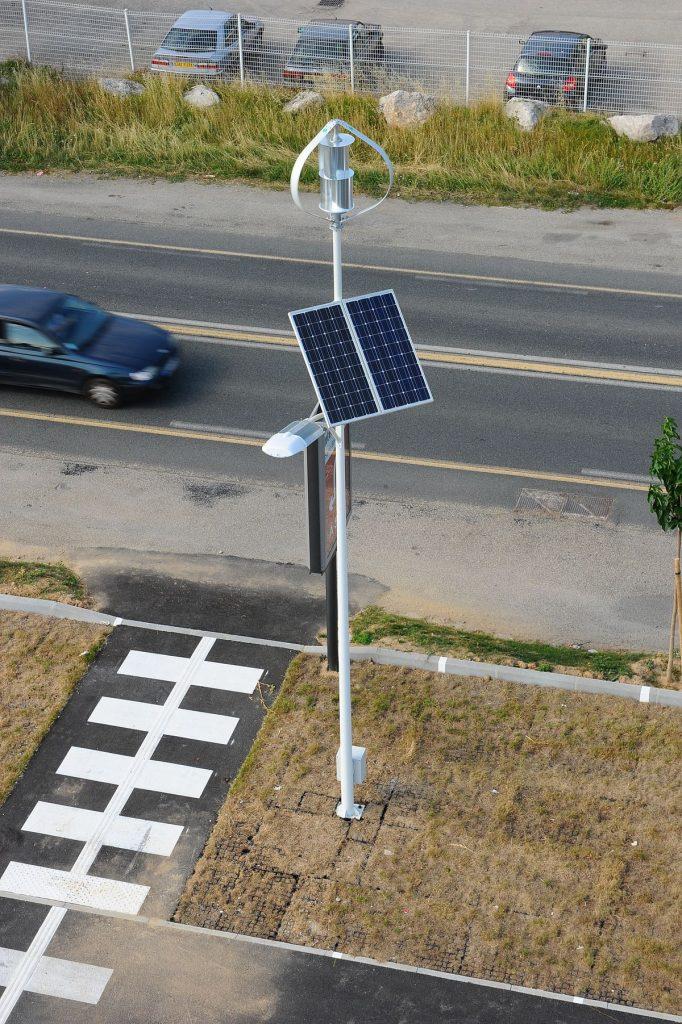 eclairage led avec panneau solaire