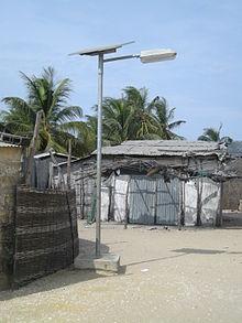 eclairage photovoltaïque autonome