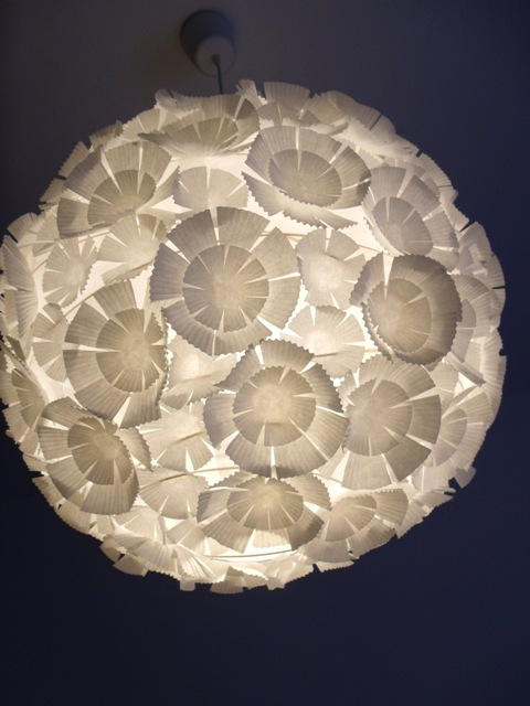ikea lampadaire papier