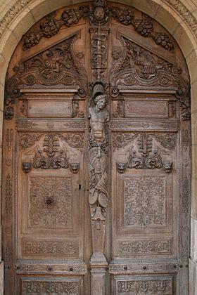 dessin de sculpture bois