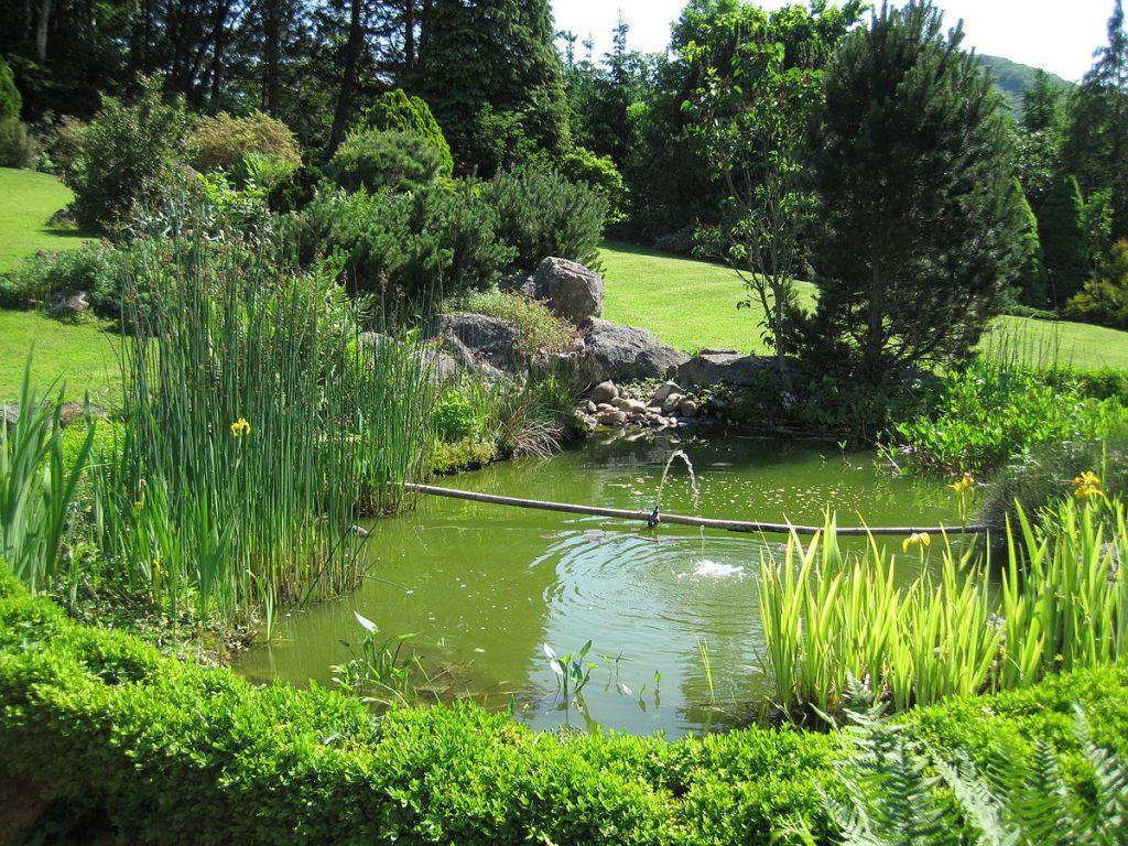 fontaine deco jardin
