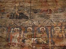 pergola murale en bois