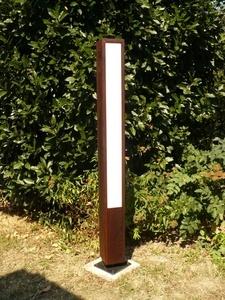 lampadaire extérieur de jardin