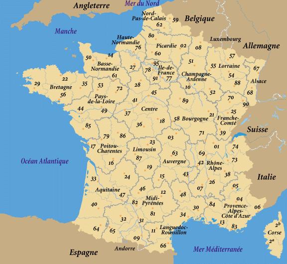 carte nord pas de calais détaillée