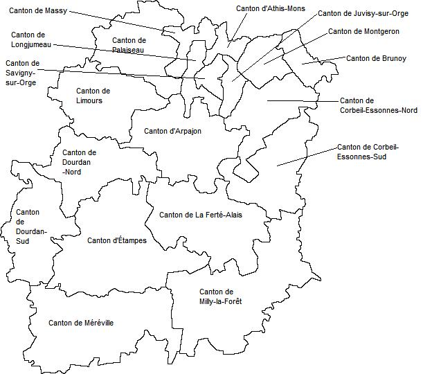 carte pas de calais détaillée