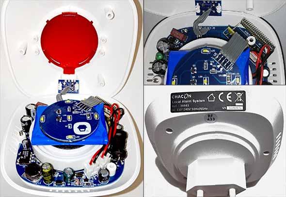 détecteur de mouvement intérieur