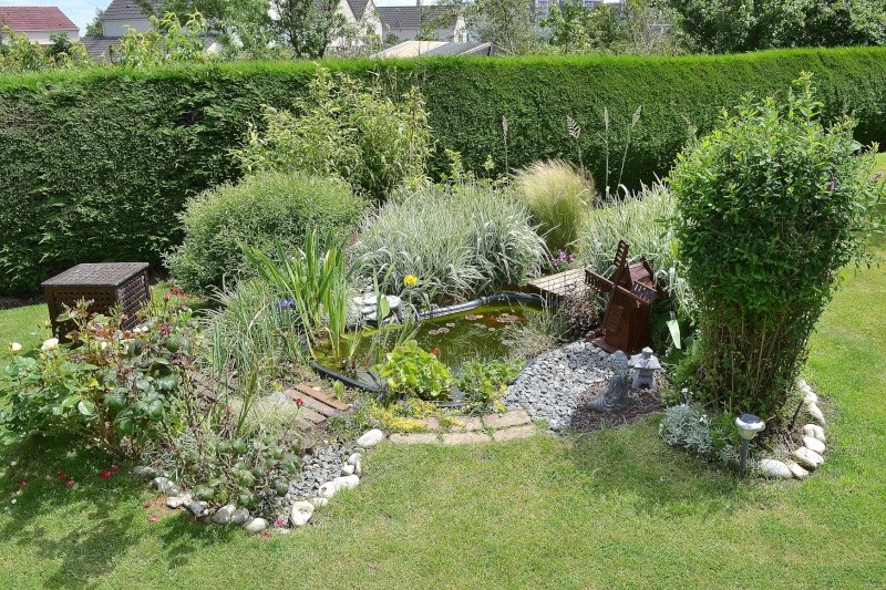 plan petit jardin japonais